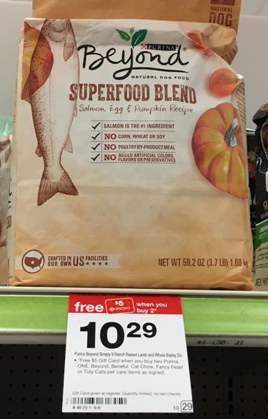target-dog-food