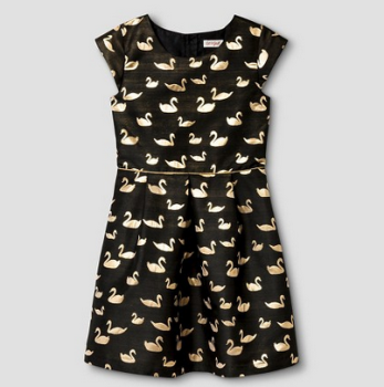target-girls-dress-black