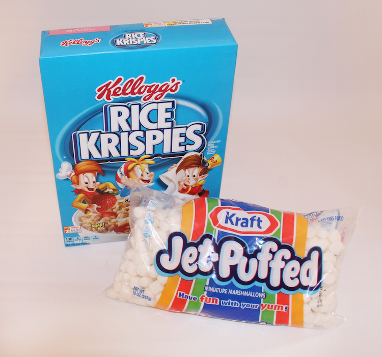 Target Kellogg's Rice Krispies and Jet-Puffed Marshmallows