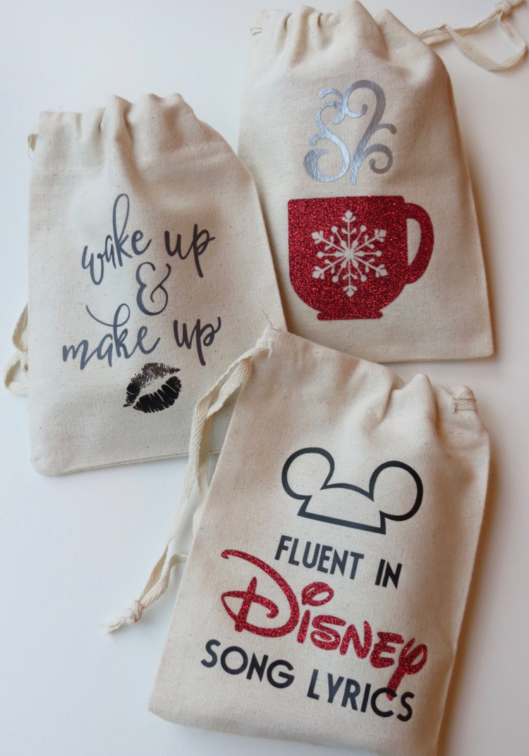 Personalized Muslin Gift Bags