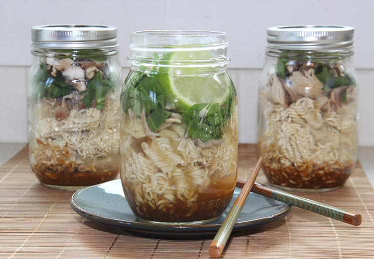 Miso Chicken Noodle Cups