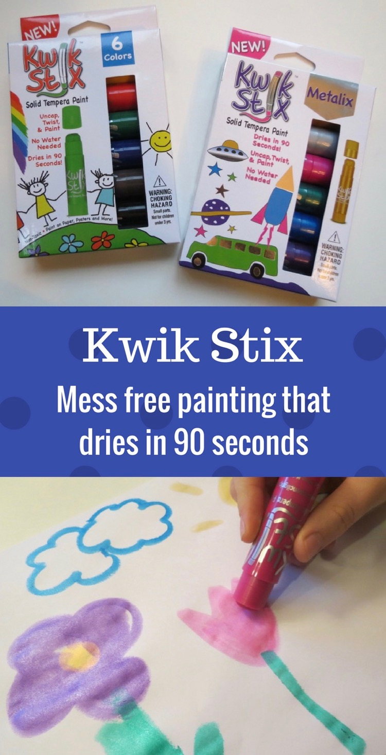 Kwik Stix paint sticks now available at Target