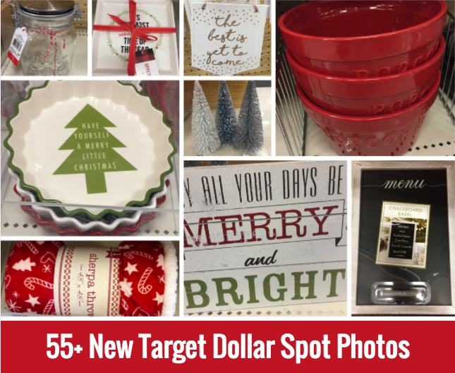 New Holiday Items in Target Dollar Spot