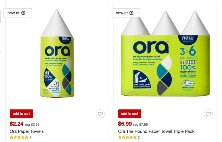 Ora Paper Towels Target
