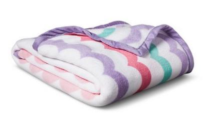 Fancy target bed pillowf blanket