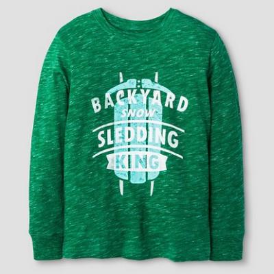 target-green-sweater