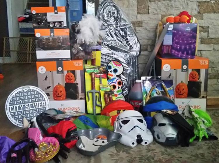 target read clear 90 halloween krista lot - Halloween Target