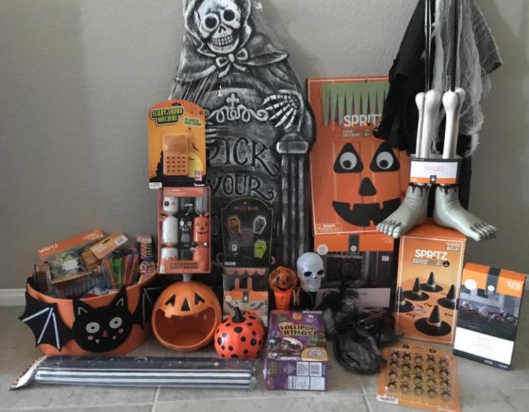 target read clear halloween vickie lot - Target Halloween