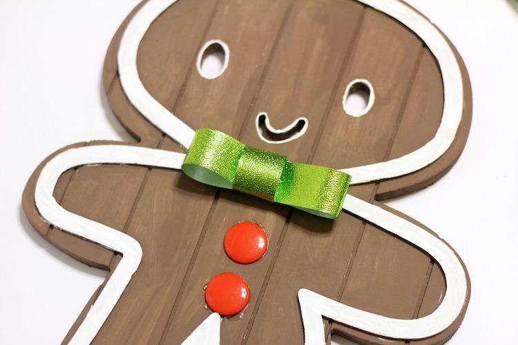 DIY Wood Gingerbread People - Supplies from Target