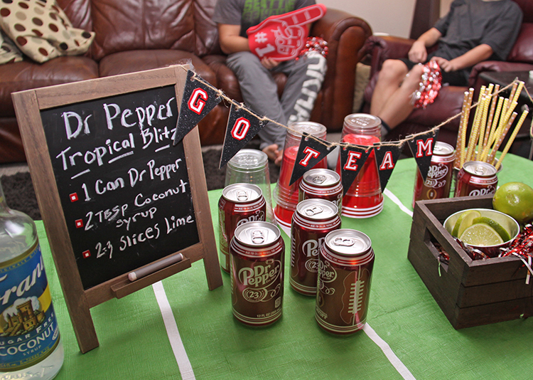 football party drinks
