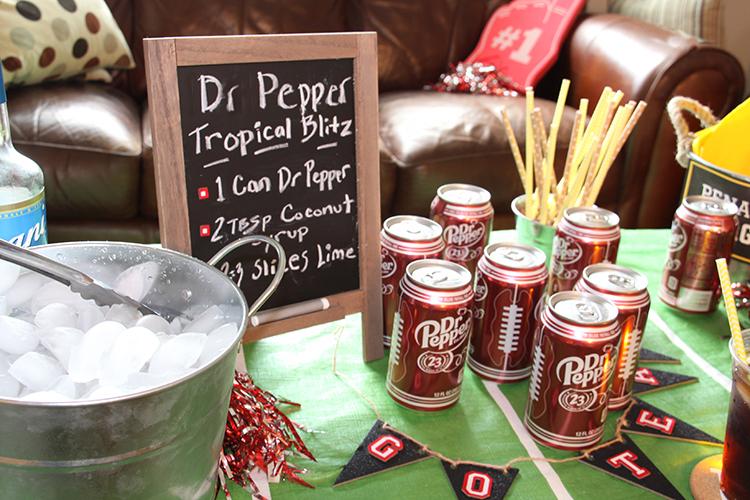 Dr Pepper drink station