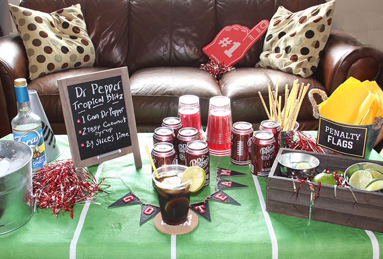 football drink table