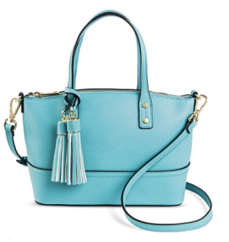 target-blue-purse-tassel
