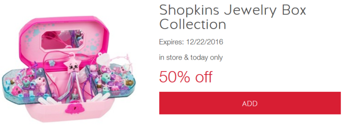 shopkins jewelry box collection target cartwheel shopkins jewelry box all things target 9164