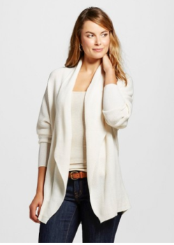 White Cardigan Sweater Target 66