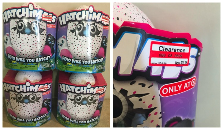 Hatchimals Target Clearance