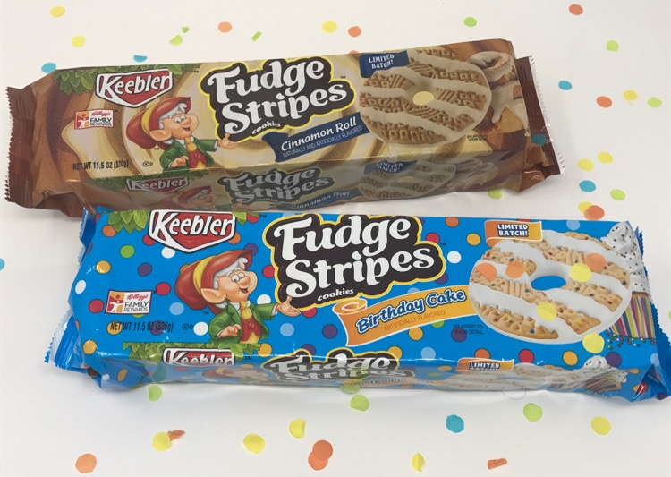 Next Time You Head To Target Look For The Keebler Fudge Stripes Cinnamon Roll Cookies And Birthday Cake