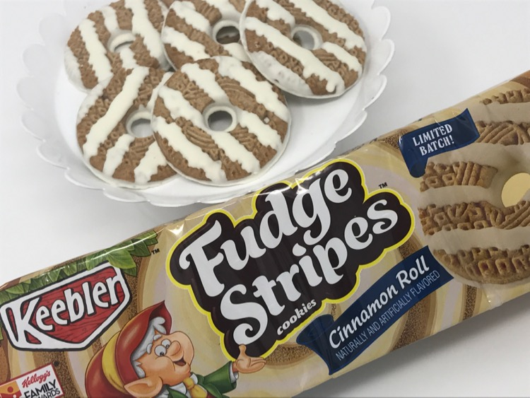 The Keebler Elves Have Put Yummy Flavor Of A Cinnamon Roll Into Their Fudge Stripes Cookies IMG 1076 These Extra Special Birthday Cake
