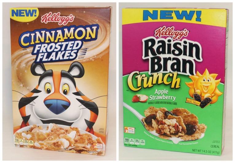 New Kellogg's cereals