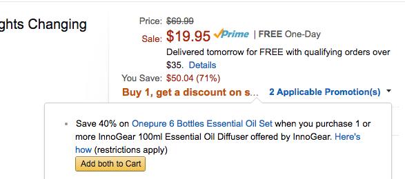 amazon cart oil