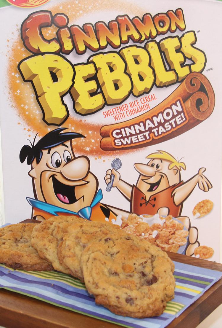 Cinnamon Pebbles Cookies