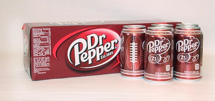 Dr Pepper soda