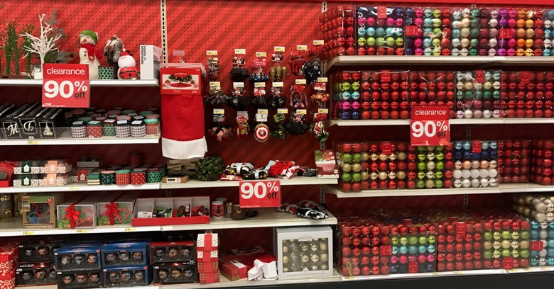 Target Christmas Clearance now 90% off | All Things Target
