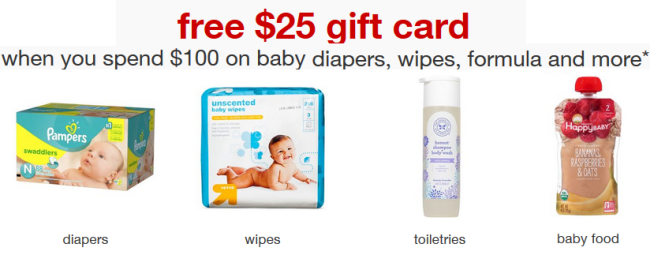 Target Baby Department Gift Card   All Things Target