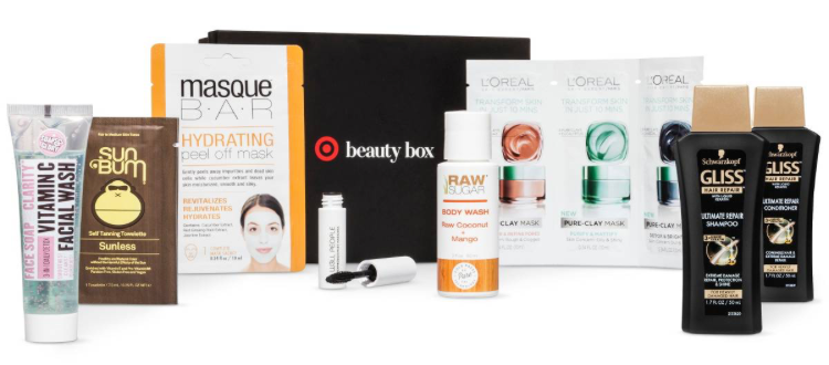 target beauty box feb pic