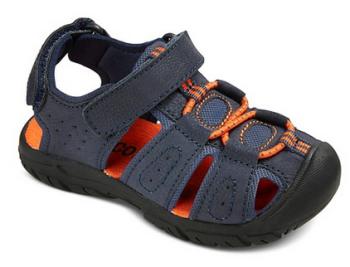 target boy sandal