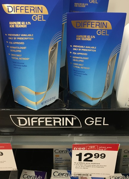 Target 2 Free Differin Acne Treatment Gel All Things Target