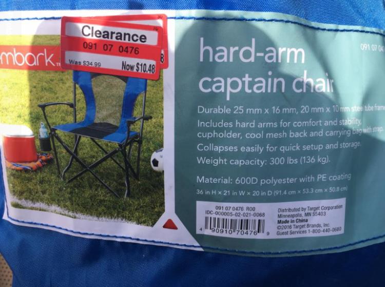 target read clear amanda camp chair