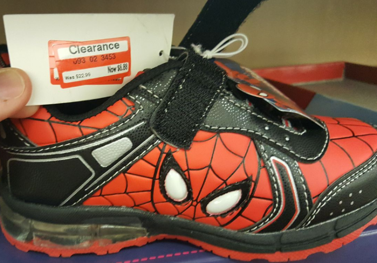 target read clear michael shoe