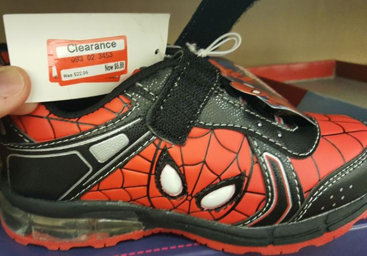 target read clear michael shoe