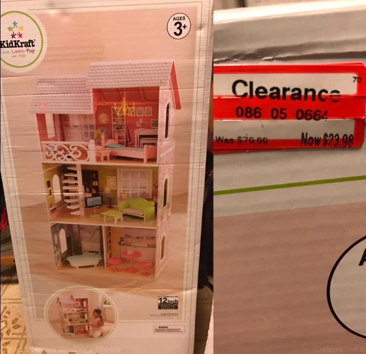 target read clear miranda doll