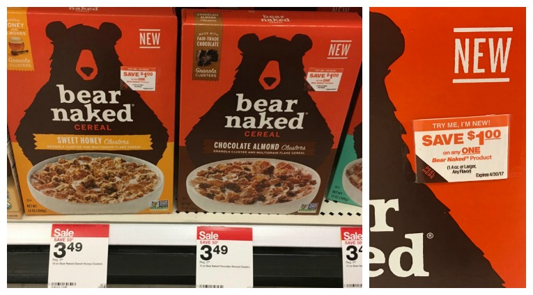 Bear Naked at Target