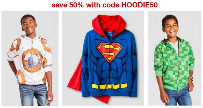 target boy hoodie collage