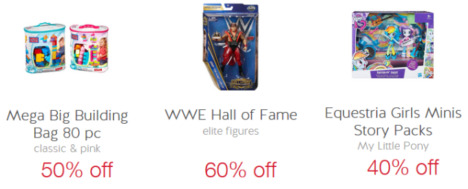 target cw r up toy offers