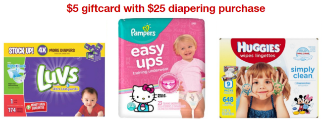 target diaper collage deal