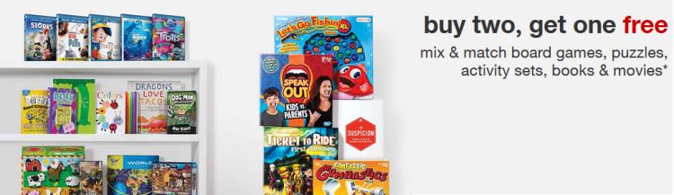 target movie book deal