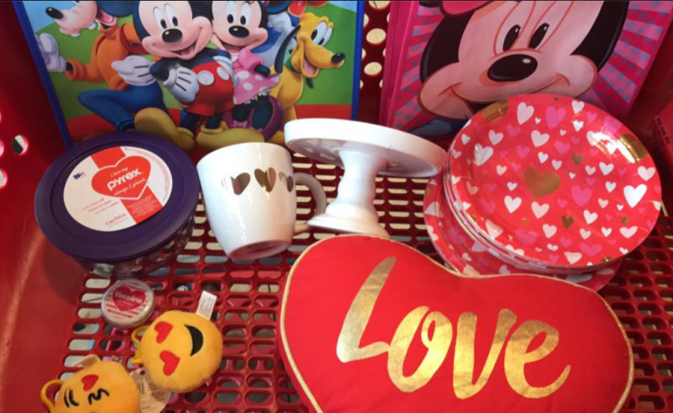 target read clear val new lisa lot mickey bag