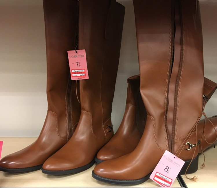 target weekly clear boot 70