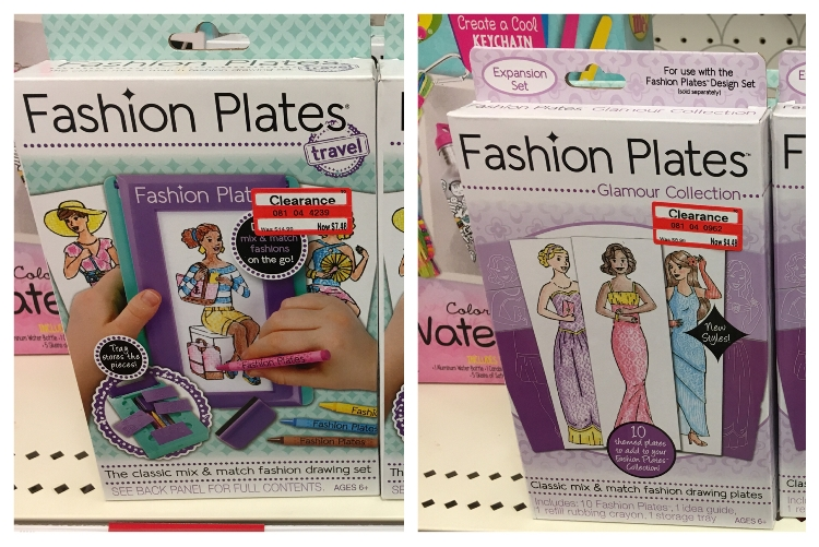 target weekly clear fashion plate