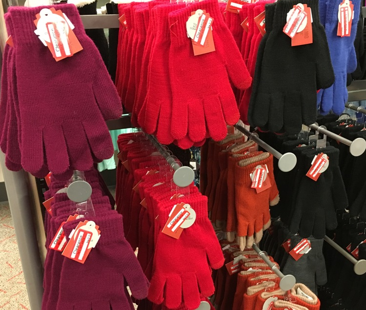 target weekly clear glove 70
