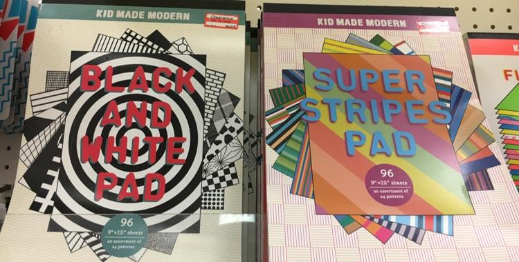 target weekly clear kids modern pad 50