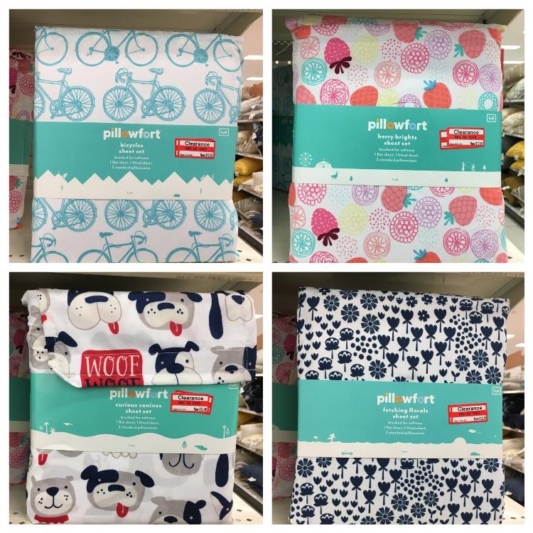 target weekly clear pillowfort sheet 50