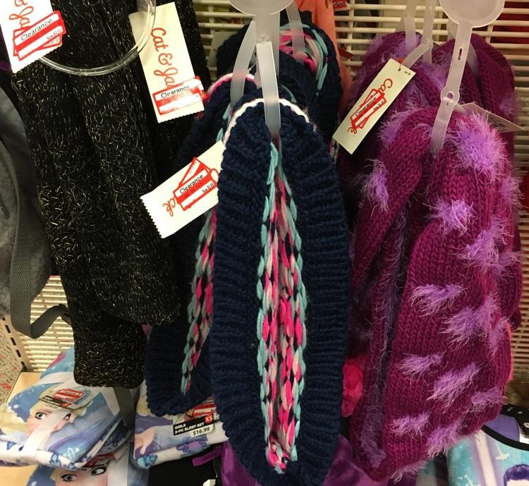 target weekly clear scarf 70