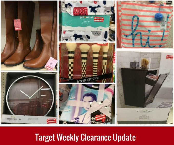 target weekly clear update blog pic