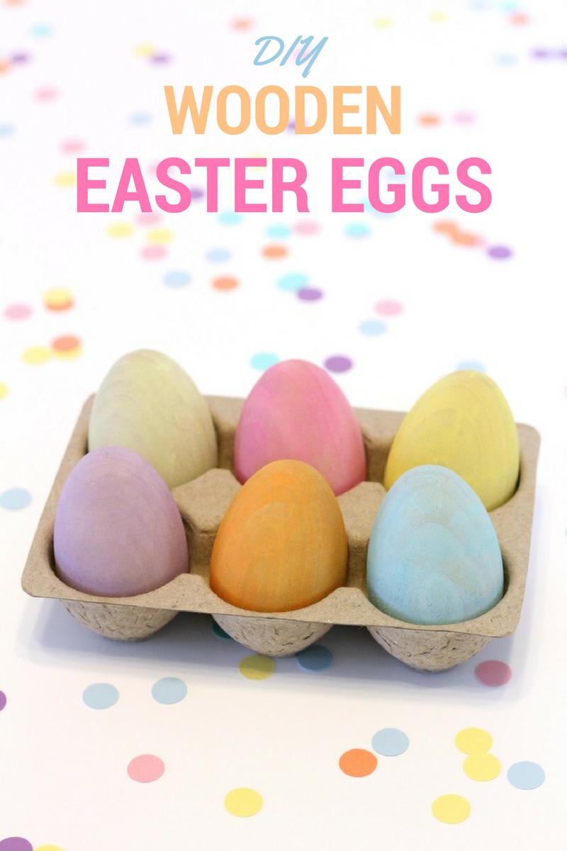 Diy Wooden Easter Eggs All Things Target