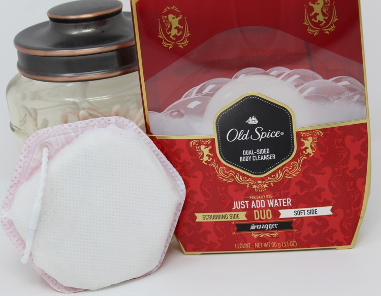 Ivory Duo Dual Sided Body Cleanser